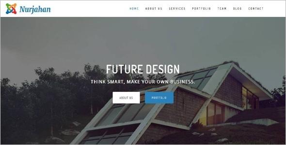 ArchitectureJoomla Template