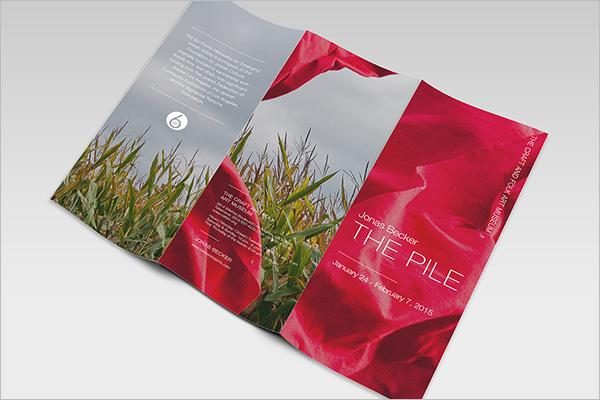 Art Exhibition Brochure Design Download