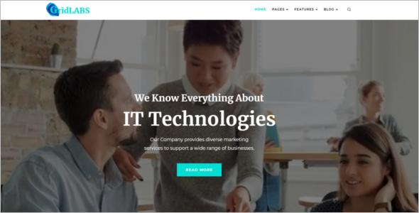 Assistive Technology Website Template