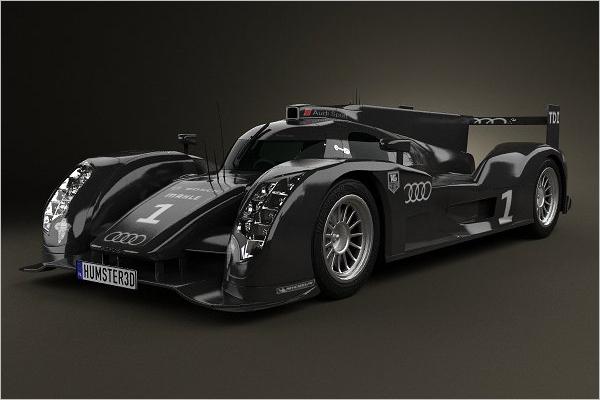Audi 3D Car Model Design