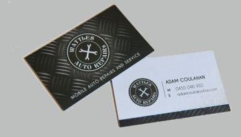 Auto Repair Business Card Templates