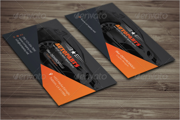 Auto Services Business Card Ideas