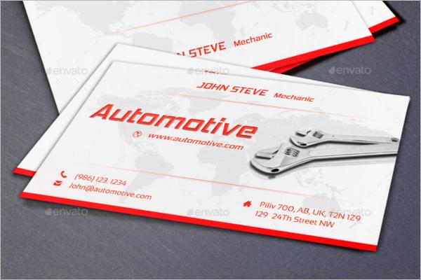 Automotive Business Card Bundle