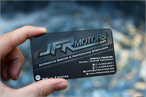 Automotive Business Card Free Download