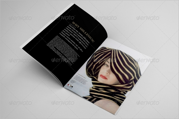 Avon Beauty Brochure Design