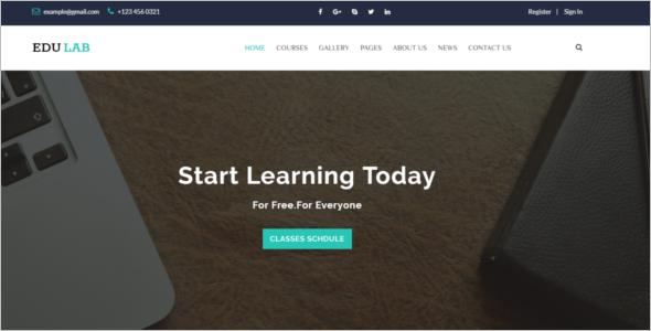 Awesome University HTML5 Tempate