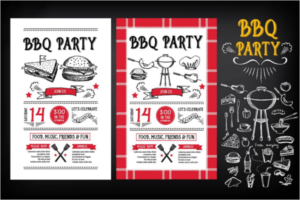 BBQ Party Menu Template