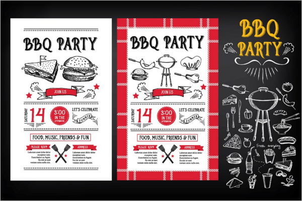 27 party menu templates free word design ideas. Black Bedroom Furniture Sets. Home Design Ideas