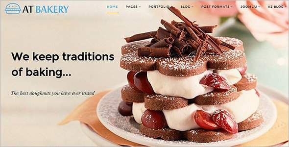 Bakery Joomla Template