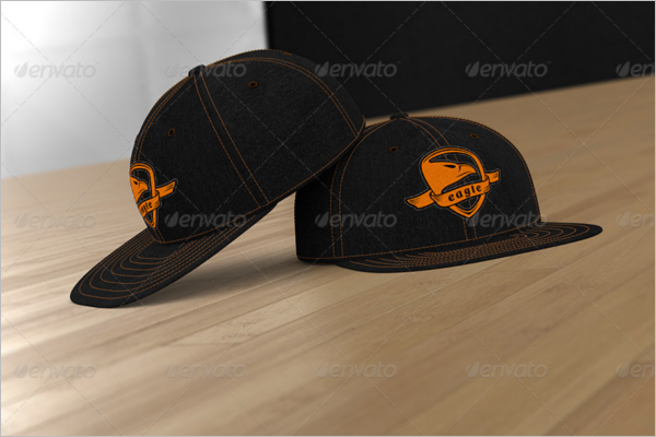Basketball Cap Mockup Design
