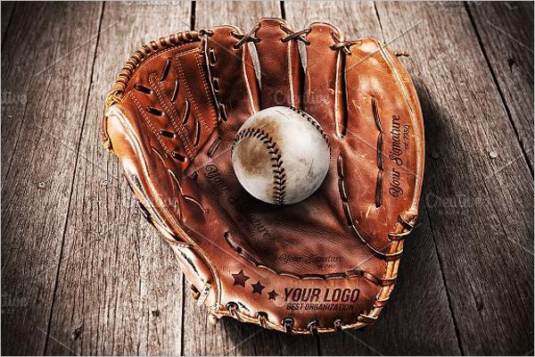 Baseball Glove - Mockup