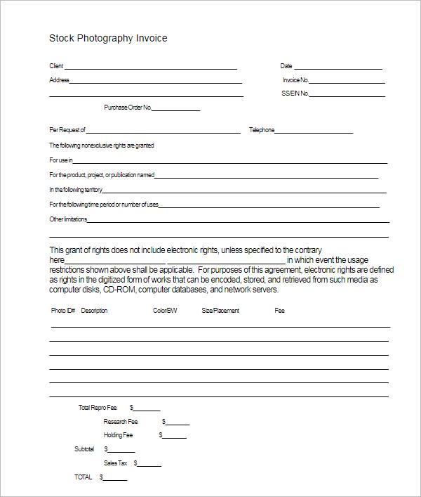 Basic Freelance Invoice Template