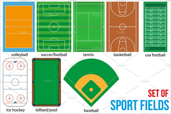 Basketball Mockup Sport Fields