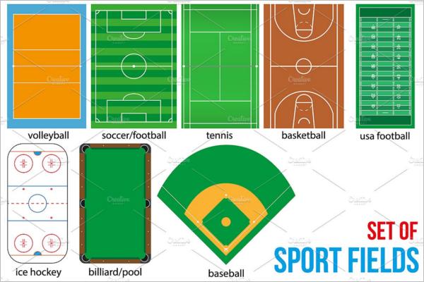 Basketball Mockup Sport Fields