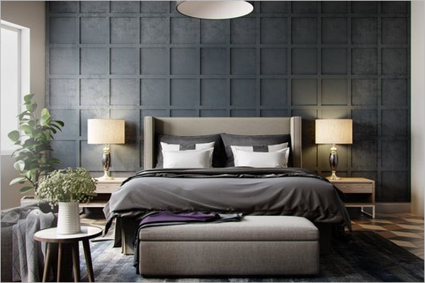 Beautiful Bedroom Texture Design
