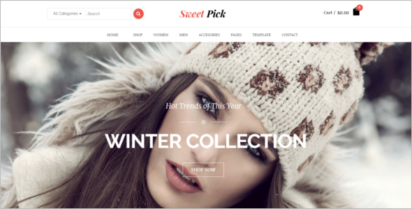 Beautiful eCommerce Joomla Template