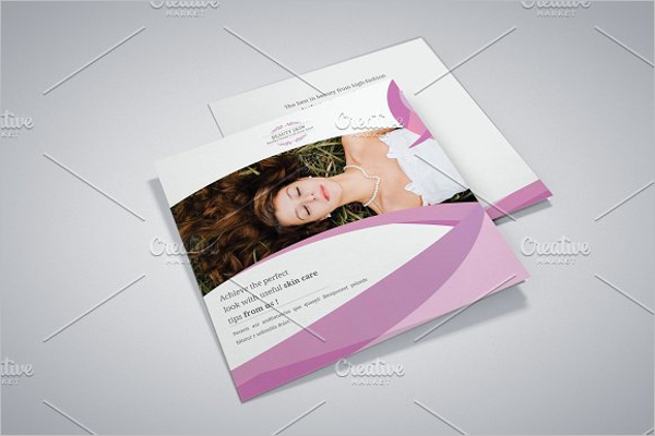Beauty Brochure Design PSD