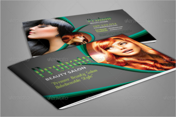 Beauty Brochure PDF Design