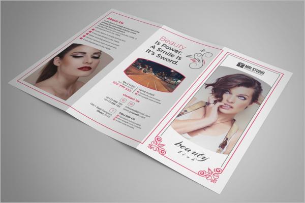 Beauty Brochure PSD