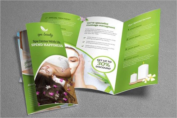 Beauty Brochure Templates