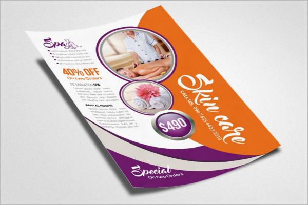 Beauty Parlour Brochure Design