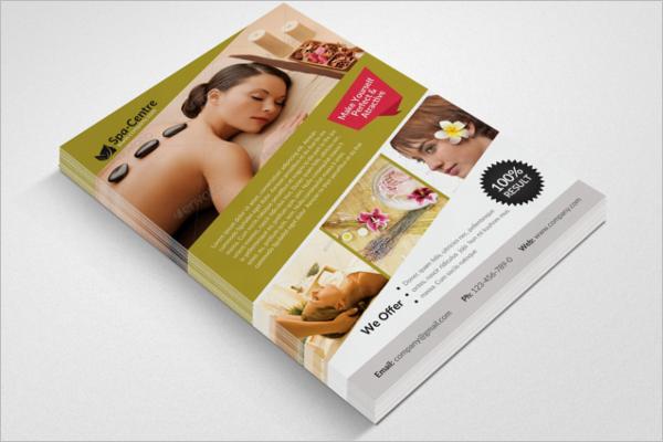 Beauty Price List Brochure Template