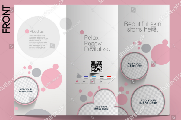 Beauty Spa Microsoft Word Brochure Free