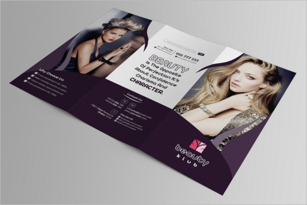 Beauty Therapy Brochure Design