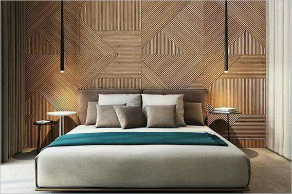 Bedroom Decorative Texture Design