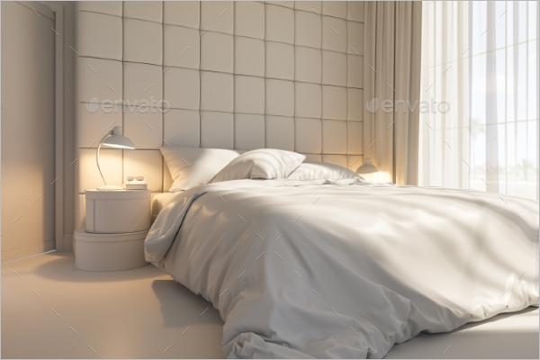 Bedroom Interior Texture Design