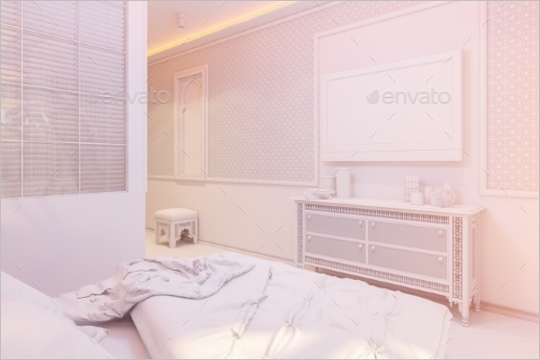 Bedroom Texture Background Design