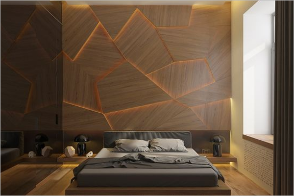 Bedroom Wall Texture Design
