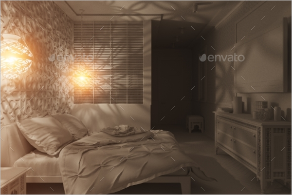 Bedroom Wall Texture Template