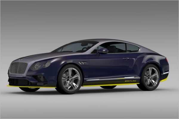 Bentley Car 3D Design