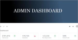 Best Admin HTML5 Template