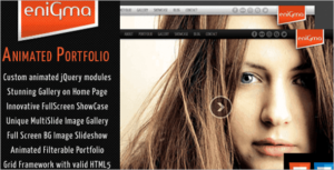 Best Animated HTML5 Template
