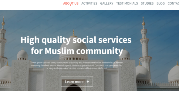 Best Arabic WordPress Theme