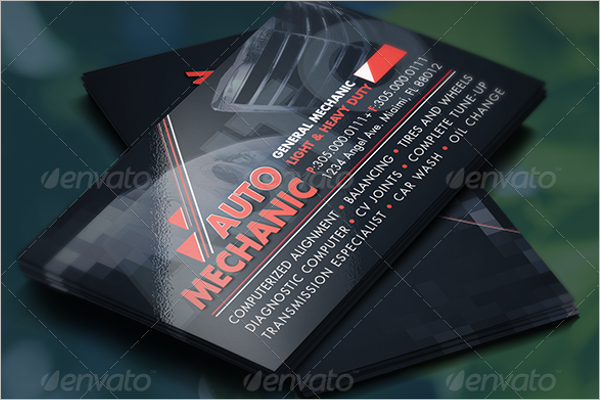 Best Auto Repair Business Card Template