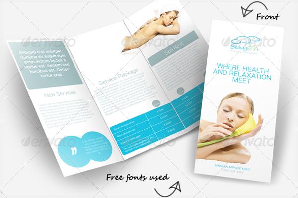 Best Beauty Brochure Designs