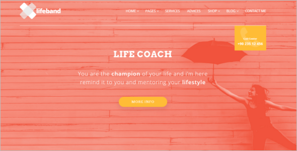 Best Coaching HTML Template