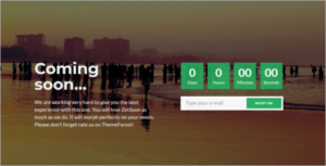 Best Coming Soon HTML Template