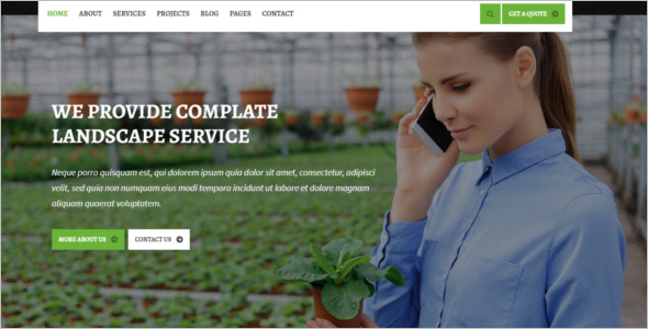 Best Farm HTML5 Template