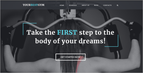 Best Gym HTML5 Template