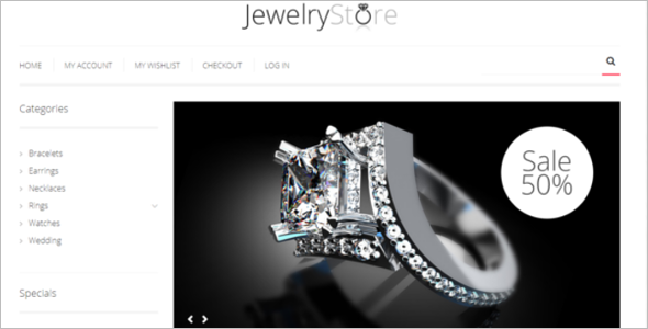 Best Jewelry HTML5 Template