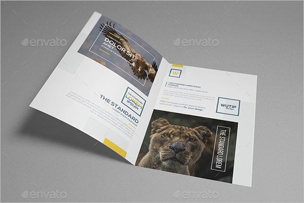 Best Leaflet Design Sample