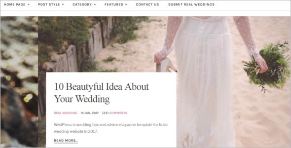 Best Matrimonial Website Template