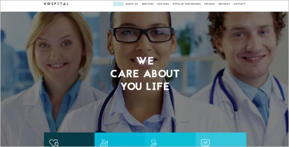 Best Responsive Hospital HTML5 Template