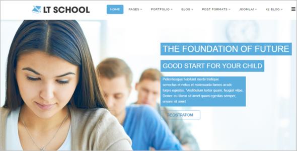 BestSchool Joomla Template