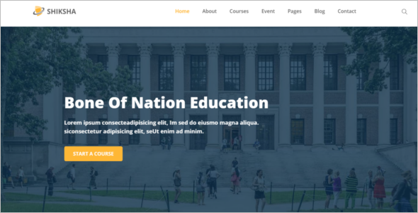Best University HTML5 Template