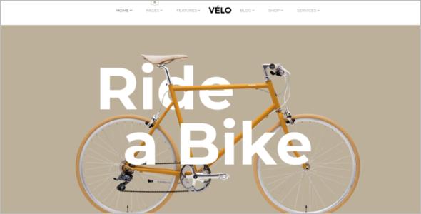 Bike Store HTML5 Template